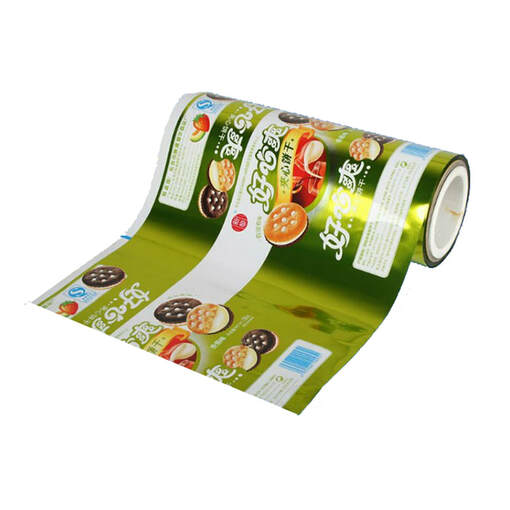 Automatic packaging roll plastic film