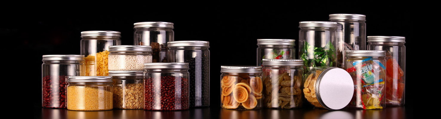 Clear PET Plastic Jars | Plastic Jar Manufacturers